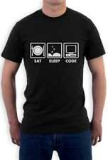 Eat Sleep Code - Funny Programmer Coder T-Shirt Coding Geek Gift Idea