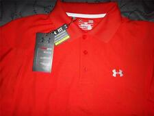 UNDER ARMOUR GOLF HEAT-GEAR UPF+30 POLO SHIRT 2XL XL L M MENS NWT $59.99