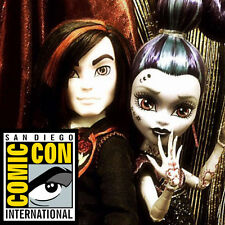 SDCC 2015 EXCLUSIVE MATTEL MONSTER HIGH VILLAIN 2 PACK VALENTINE & WHISP DOLLS