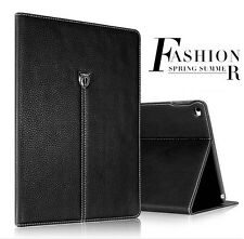 Flip Card Slot Stand Genuine Leather Case Smart Cover For ipad mini 2/3/4/5/6
