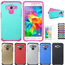 Hybrid Protective Armor Hard Case Cover For Samsung Galaxy Grand Prime G530