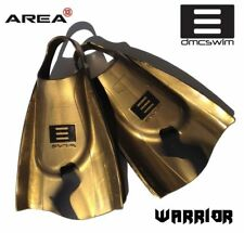 DMC Swim Fins WARRIOR BRONZE & BLACK / Swim Training Fins / Swimming Flippers