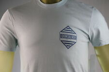 "QUIKSILVER ""ANSWER MTO"" BLUE (ICI) GRAPHIC T-SHIRT Size Small/Medium/X-Large/XL"