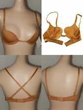 NWT MAX CLEAVAGE EXPOSURE WIDE NECKLINE DEEP PLUNGE MIN COVERAGE CONVERTIBLE BRA