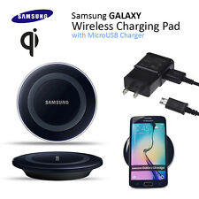 QI OEM Samsung Wireless Charging Pad W/Glowing LED For Samsung Galaxy
