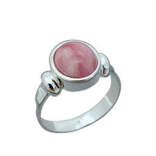 Ring Silver 925 Rhodochrosite - 16 Sizes Selectable (3710)