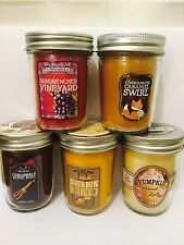 Bath And Body Works MASON JAR CANDELA. NATALE Inverno Scents. NUOVO! 30-40hrs