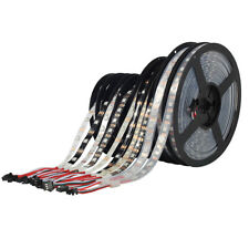 5M 30Pixels/M WS2812B Black 5050 RGB LED Strip Light Individually Addressable 5V