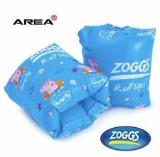 ZOGGS GEORGE PIG ROLL UP ARM BANDS, CHILDREN'S POOL FLOATIES, SWIMMING ARM BANDS