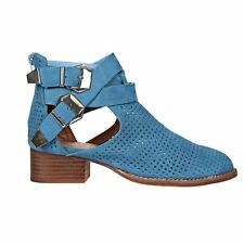 Jeffrey Campbell Jeffrey Campbell Everly Boots in Blue Nubuck