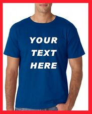 BUY your Custom Personalized T Shirts -print your TEXT, Short Sleeve, camisetas