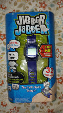 Jibber Jabber: The Talk Back Watch Toy for Kids - NEW - Blue / Gray