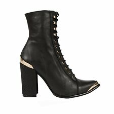 Jeffrey Campbell Jeffrey Campbell Antonio Boots in Black Gold