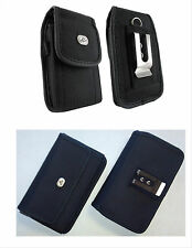 Canvas Vertical , Horizontal Cell Phone Holder Cover Case Pouch Side B