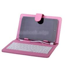 "PU Leather Case Cover with USB Keyboard For Tablet PC 7"" 8"" MID PDA Android PC"