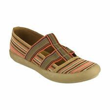 Cotswold CROMPTON Ladies Womens Canvas Slip-On Summer Autumn Comfort Shoes Taupe