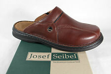 Seibel Clogs Mules brown, Leather Soft Leather Footbed, Leather lining new