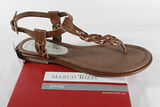 Marco Tozzi Thong sandal, brown, soft inner sole, Synthetic NEW
