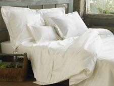 Superior Percale Branded Qulity 1000TC 100%Egyptian Cotton White Solid Bedding