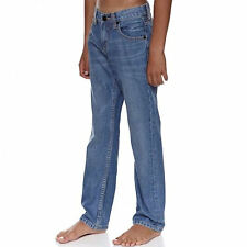 BILLABONG YOUTHS JEANS - THE POINT - DOUBLE DARK BLUE USED LOOK - NEW WITH TAGS