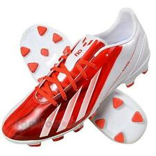 Shoes Adidas Soccer MESSI F10 TRX HG G65364 Man Traxion White red