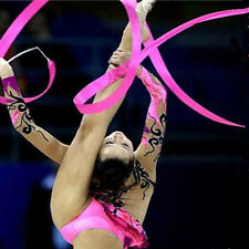 Rhythmic Gymnastics Gym Rod Ballet Dance Ribbon Streamer Theater - Pick U Color