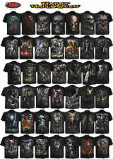 Spiral Direct NEW DESIGNS Skull/Dragon/Reaper/Rock/Metal/Halloween/T shirt/Top