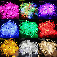 110V 10M 100 LED Bulbs Christmas Fairy Party Starry String Lights Waterproof