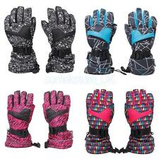 Anti-slip Waterproof Winter Motorcycle Ski Snowboarding Gloves Mittens Thermal
