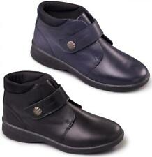 Padders REJOICE Ladies Leather EEE/EEEE Extra/Super Wide Comfy Dual Fit Boots