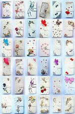 Bling Diamond Wallet Card Holder PU Leather flip Case Cover For HTC Desire 728