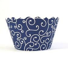 Bella Cupcake Couture Olivia Navy Blue MINI Wrapper