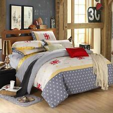 English Flag Single Double Queen King Size Bed Set Pillowcases Quilt Duvet Cover