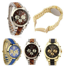 Hot Men's Fashion & Classic Luxury Stainless Steel Quartz Analog Wrist Watch UK