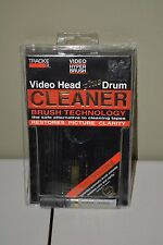 Trackmate TM 270 Video Head plus Drum Cleaner VCR Cleaner - New In Package