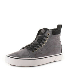 Mens Vans Sk8-Hi Mte Pewter Wool Suede Lace Up High Top Trainers Shoes Uk Size