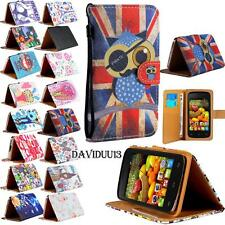 For Various CUBOT Mobile Phones Leather Wallet Card Stand Flip Case Cover +Strap