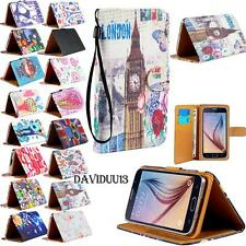 For Various Landvo Mobile Phones Leather Wallet Card Stand FLIP Pouch Case Cover