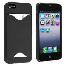 NEW Credit Card Holder Hard Plastic Case Cover for iPhone 5 5S