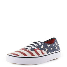 Womens Vans Authentic Americana Dress Blues Skate Shoes Trainers Uk Size
