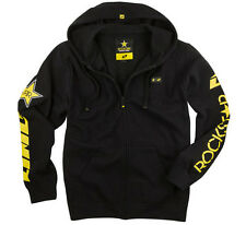 ONE INDUSTRIES MEN'S ROCKSTAR SHATTERED ZIP HOODIE SWEATER BLACK adult motocross