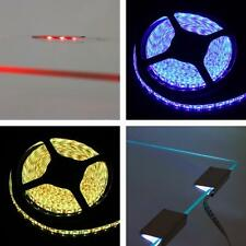 Combination: RGB LED glass edge lighting 5-30 Clips + RGB LED strips 5-25m