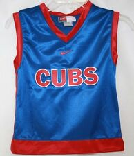 NEW Boys Kids Nike Chicago CUBS MLB Blue Red 2 Piece Shirt and Short Set