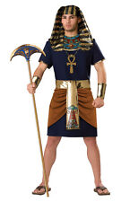 EGYPTIAN PHARAOH Ancient Tunic Adult Men's Halloween Costume Fancy Dress Outfit