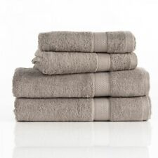 Pure Egyptian Cotton 630GSM Bath Towels, Bath Sheets, Hand, Face & Mat. Mushroom