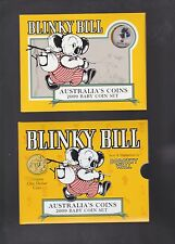 2009 Baby UNC Coin Set Blinky Bill Dorothy Wall Australia Birthday Birth Year