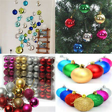 Cool 24X Christmas Tree Ball Bauble Hanging Ornament Decoration Party Decor TR85