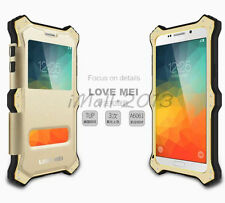 MK2 Heavy Duty Metal Shockproof Case + Leather Cover for Samsung Galaxy Note 5