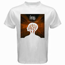 New GOJIRA Heavy Metal Rock Band Men's White T-Shirt Size S - 3XL