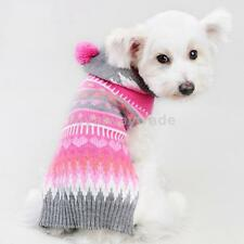 Boho Colorful Patterns Pet Dog Hoodie Sweater Apparel Clothes Size XXS/XS/S/M/L